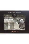 Arma De Mexico Silver Pistol Gift Pack
