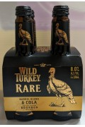 Wild Turkey Rare and Cola Btl 320ml