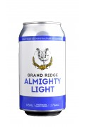 Grand Ridge Almighty Light Beer Cans 375ml