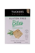 Tuckers Gluten Free Rosemary and Rock Salt Cracker