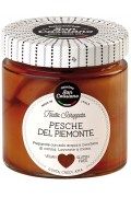 Cascina Piedmontese Peaches In Syrup 410gr