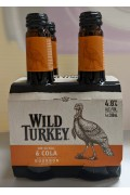 Wild Turkey and Cola Btl 340ml