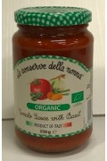 Le Conserve Organic Tomato and Basil 350g