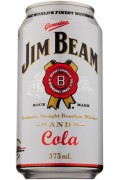 Jim Beam And Cola Can 375ml
