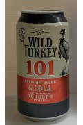 Wild Turkey and Cola 101 Cans 375ml