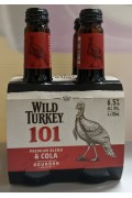 Wild Turkey and Cola 101 Btl 340ml