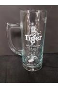 Glass Tiger Beer Mug 300ml