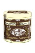 Chiostro Panettone Chocolate Tin 750gr