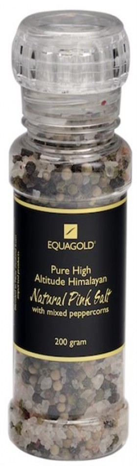 Equagold Himalayan Pink Salt and Peppercorns 200gr
