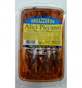Calabraittica Spiced Anchovies Blister Pack 170g