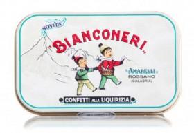Amarelli Bianconeri Liquorice 50gr