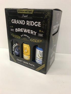 Grand Ridge Mixed Gift Pk 6btt Craft Beer