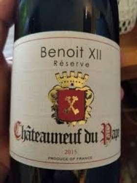 Benoit Xii Reserve Chateauneuf Nuf Pape