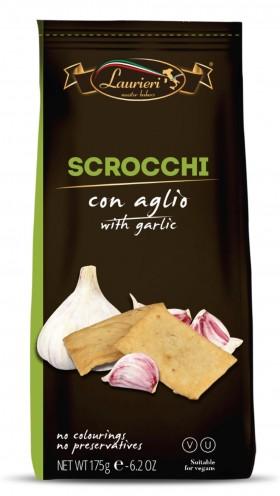 Scrocchi Garlic Crackers Laurieri 175gr