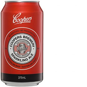 Coopers Sparkling Ale Cans 375ml
