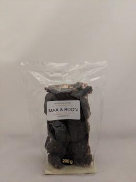 Max and Boon Dark Choc Rocky Road W Peanuts 200gr