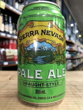 Sierra Nevada Draught Style Pale  Cans 355ml