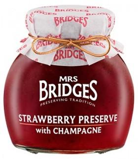 Mrs Bridges Strawberry Preserve W Champagne
