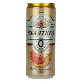 Baltika Grapefruit Non Alcoholic 330ml Cans