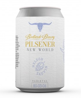 Badlands Nw Pils Cans 355ml