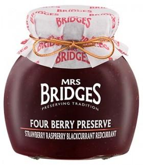 Mrs Bridges Four Berry Preserve 340gr