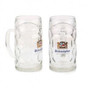Glass Weihenstephaner 2pk Mug
