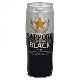 Sapporo Black Can 650ml