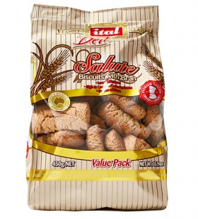Ital Salute Wholemeal Biscuits 450gr