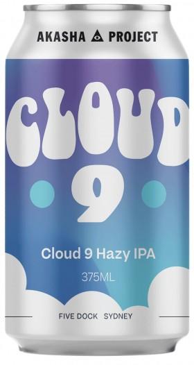Akasha Cloud 9 Hazy Ipa 375ml Cans