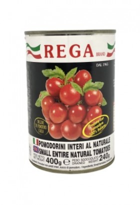 Rega Cherry Tomatoes In Tins 400gr
