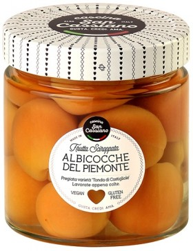 Cascina Piedmontese Apricots In Syrup 420gr