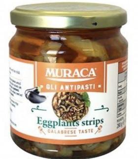 Muraca Eggplant Strips Marinated 280gr