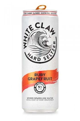 White Claw Ruby Grapefruit Hard Seltzer 330ml Ca