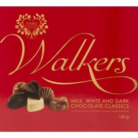 Walkers Mixed Classic Chocolates 120gr