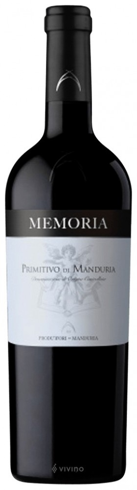 Memoria Primitivo Di Manduria Dop