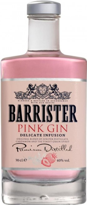 Barrister Pink Gin 700ml