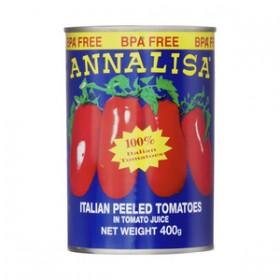 Annalisa Peeled Tomatoes Tins 400gr
