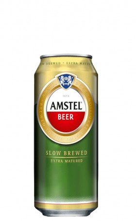 Amstel Lager Cans 500ml
