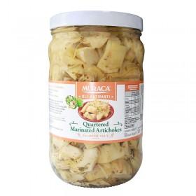 Muraca 1.7kg Quartered Marinated Artichokes