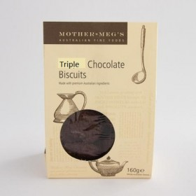 Mother Megs Triple Choc Biscuits