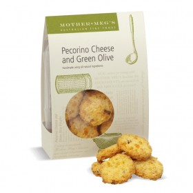 Mother Megs Pecorino and Olive Biscuits