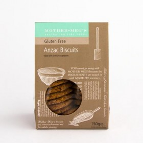 Mother Megs Gluten Free Anzac Biscuits