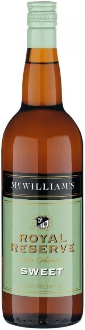 Mcwilliams Royal Reserve Sweet Aper 750ml