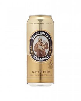 Franziskaner Naturtrub 500ml Cans
