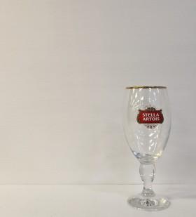 Glass Stella Artios With Gold Rim