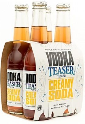 Vodka Teaser Creamy Soda 275ml Btt