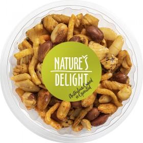 Natures Delight Spicy Crackernut Mix 180gr