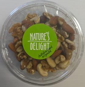 Natures Delight Nut Mix Natural 150gr