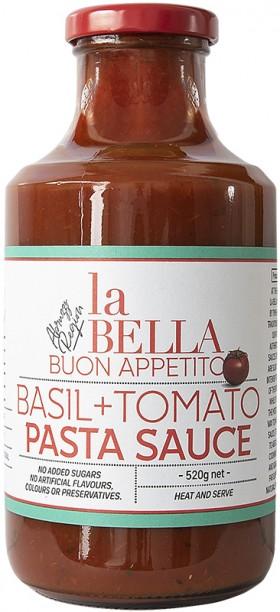 La Bella Buon Appetito Basil Tomato Sauce