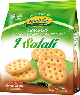 Farabella Gluten Free Crackers 200gr